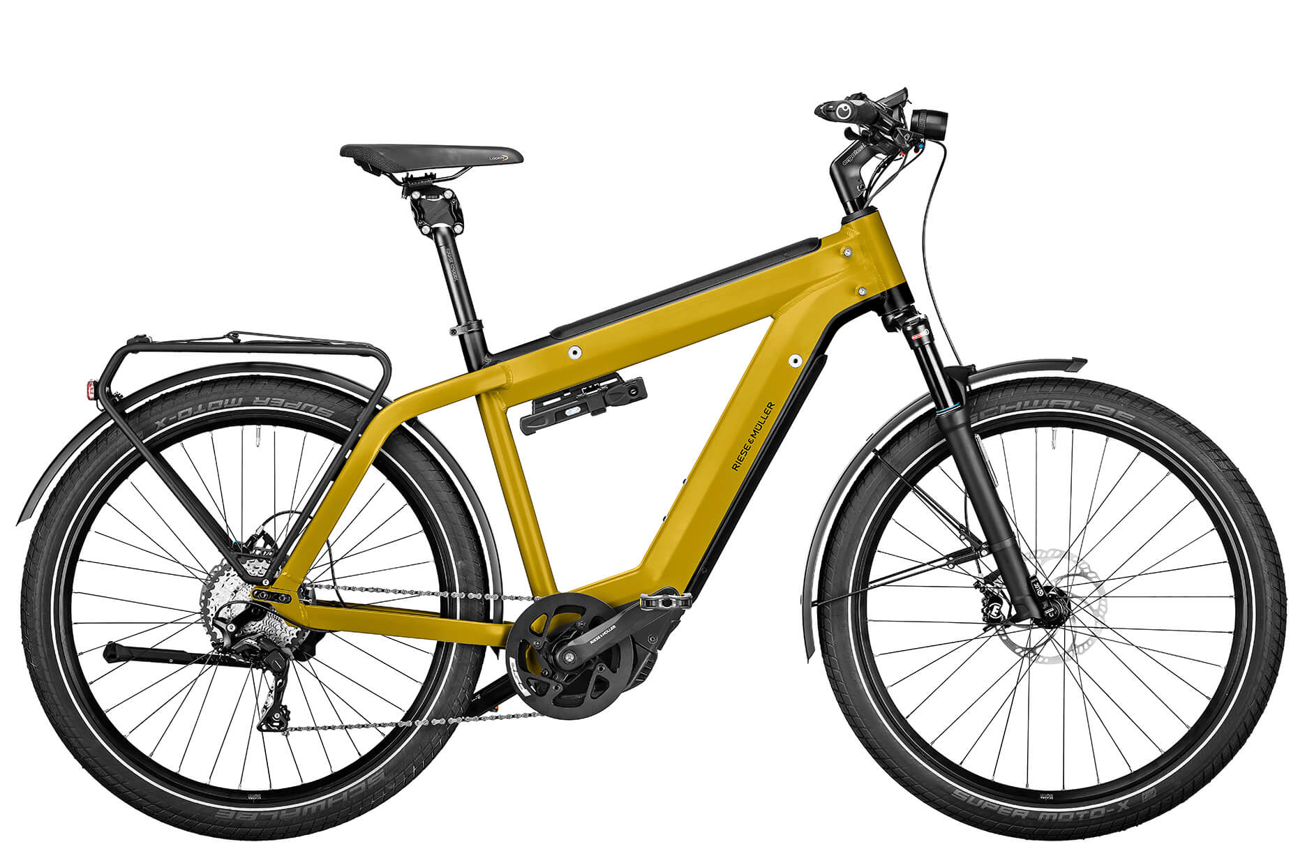 Riese & Müller Supercharger2 GT touring (yellow)