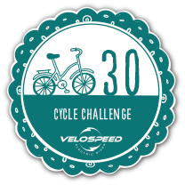 Bronze 30 Day Velospeed Cycle Challenge Badge