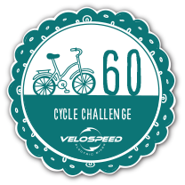 Silver 60 Day Velospeed Cycle Challenge Badge