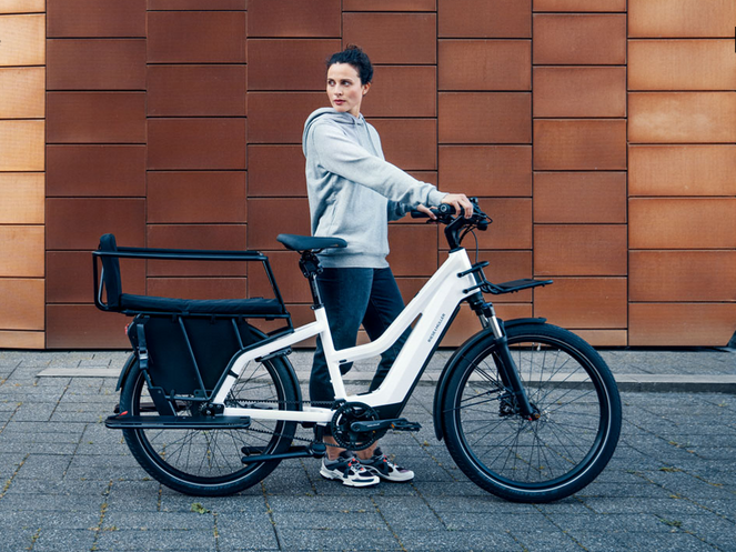 Multicharger Mixte – E-Bike with back seat (Riese Müller)